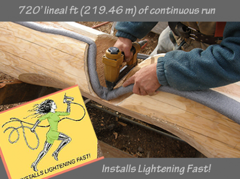 720 LINEAL FEET OF CONTINUOUS RUN,