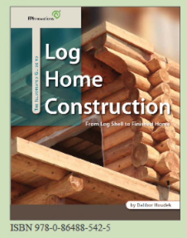 cover of Illustrated Guide to Log Home Finishing