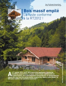 log home publication from France