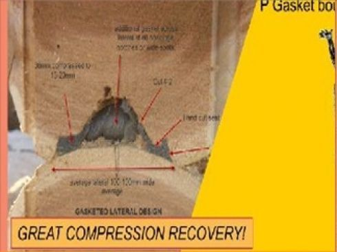 Excellent Compression Recovery,