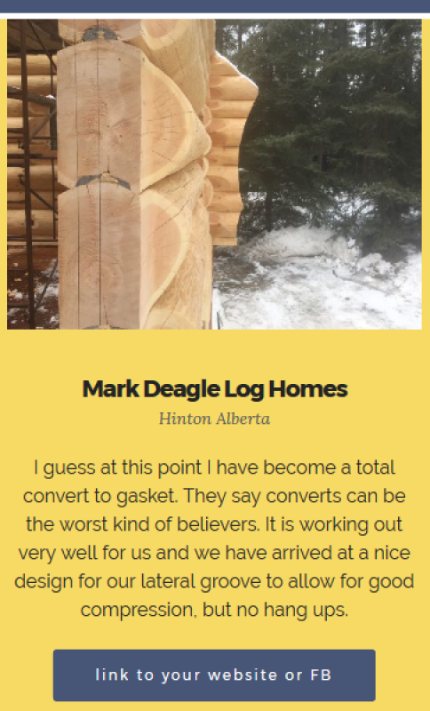 Mark Deagle Log Homes