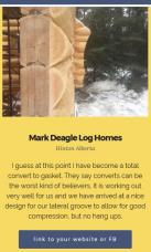 Mark Deagle Log Homes